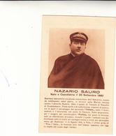 Nazario Sauro, Tenente Di Vascello, Cartolina Postale Collezione Ufficio Della Marina Italiana - Characters