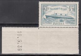 1935-36  Yvert Nº 300  MNH - Francia