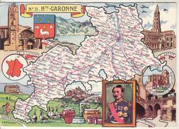 N° 31 - Hte GARONNE  Par J.P. Pinchon - Edition :Blondel La Rougery - Maps
