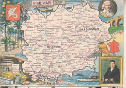 N° 84 - VAR  Par J.P. Pinchon - Edition :Blondel La Rougery - Maps