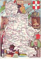 N° 26 - DROME  Par J.P. Pinchon - Edition :Blondel La Rougery - Maps