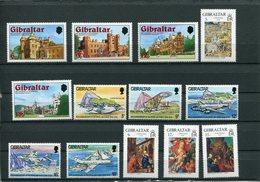 Gibilterra - 1978 - Annata Completa / Complete Year Set ** MNH / VF - Gibilterra