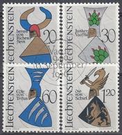 LIECHTENSTEIN 1966 Nº 413/16 USADO - Liechtenstein