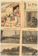 Le Pélerin N° 1668 Noël Mobilisation Prague Flotille Autriche Constantinople Frontière Monténégro Pub Poulbot A Lemot - 1900 - 1949