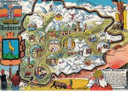 ANDORRA  Par Louprêtre - Maps