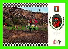 SPORTS, MOTOCROSS - GUY PEIXOTO, FRANCE - No 6 SERIE SIDE CROSS - NORTON 195 Kg 60 C.V. - - Motorcycle Sport