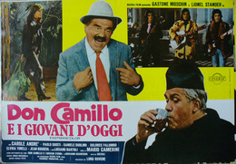 DON CAMILLO CON GASTONE MOSCHIN - Manifesti & Poster