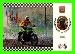 SPORTS, MOTOCROSS - BOB WRIGHT, GRANDE BRETAGNE - No 22 SERIE MOTOCROSS - MONTESA 100Kg 32,5 C.V. - - Motorcycle Sport