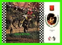 SPORTS MOTO - PAVEL RULEV URSS - No 13, SERIE MOTOCROSS - K,T,M, 104,5 KG 35 C.V. - - Sport Moto