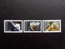 LIECHTENSTEIN MI-NR. 1093-1095 ** MINERALIEN(II) 1994 EISEN-DOLOMIT - Minerals