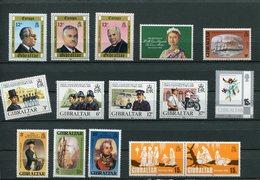 Gibilterra - 1980 - Annata Completa / Complete Year Set ** MNH / VF - Gibilterra