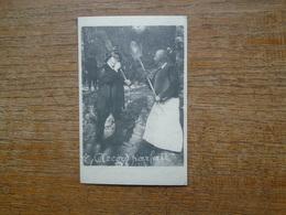 """édition Cartes D'autrefois """" Accord Parfait 1912 """" La Valse Des Balais Le """" Paille """" Contre Le """" Bruyère """" - Fairy Tales, Popular Stories & Legends"""