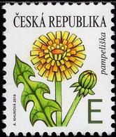 Czech Republic - 2019 - Dandelion - Mint Definitive Stamp - Neufs