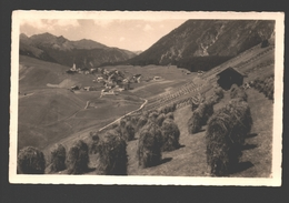 Berwang - Berwang In Tirol Mit Lechtaler Alpen - 1955 - Fotokarte - Verlag Fredy, Berwang - Haystack / Heuhaufen / Foin - Berwang