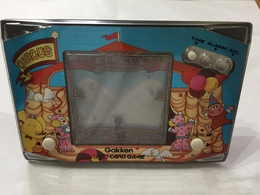 GAKKEN LCD CARD GAME CIRCUS VINTAGE MADE IN JAPAN FUNZIONANTE. - Electronic Games