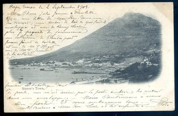 Cpa Afrique Du Sud South Africa -- Cape Town , View Of Cape Town And Table Mountain  AFS1 - South Africa