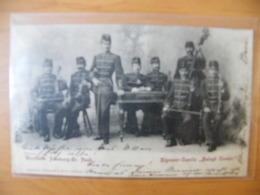 CPA Groupe Musique Tsigane Type Taraf  Balogh Czesar 1898 Dos Non Divisé - Other