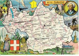 N° 73 - Hte SAVOIE Par J.P. Pinchon - Edition :Blondel La Rougery - Maps