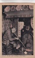 """HOTEL RESTAURANT """"DE SPRENG"""" PUTTEN. VELUWE IN EEN OUDE WONING TE DOORNSPIJK. JOS. M.H.NUSS. CPA CIRCA 1920s - BLEUP - Publicité"""