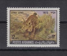 Afghanistan 1972 Luchs Einzelwert Mi.-Nr. 1114 **  - Afghanistan