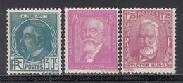 1935-36  Yvert Nº 291 / 293   MNH - Francia