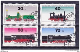 Duitsland Berlijn 1975 Nr 452/55 G, Zeer Mooi Lot Krt 3613 - Timbres