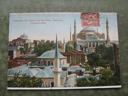 CONSTANTINOPLE - MOSQUÉES STE. SOPHIE ET STE. IRENE ( Scan Recto/verso ) - Turquie