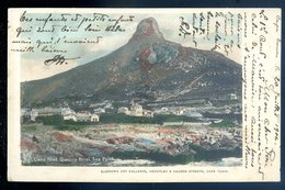 Cpa Afrique Du Sud South Africa --  Lions Head , Queen's Hotel , Sea Point   AFS1 - South Africa
