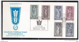 Oostenrijk 1980 Nr 1114/19 G Op Kaart,  Zeer Mooi Lot 3690 - Timbres