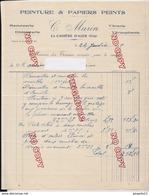 Au Plus Rapide Var La Cadière D'Azur Facture Peinture C Marin Janvier 1925 - France
