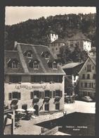 Feldkirch - Hotel Alpenrose / Buch- Und Zeitungsdruckerei - Verlag Foto Rhomberg, Dornbirn - Classic Car - Feldkirch