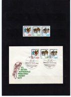 DDR, 1977, Michel 2216/18, Marken** Und FDC, 30. Friedensfahrt - Zonder Classificatie