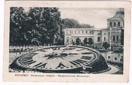 HUNG-102   BUDAPEST : Margitsziget : Flowerclock / Blumenuhr - Hungary