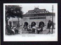 Algérie  / Biskra / Grand Café Glacier / Attention ! Photo Reproduction Carte Postale - Biskra