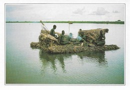 Ethiopie Radeau De Papyrus Sur Le Nil (2 Scans) - Ethiopie