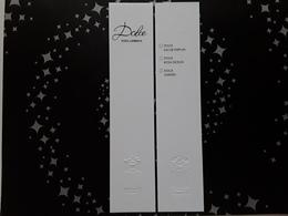 "DOLCE ET GABBANA   "" Dolce  "" Liste 3 Parfums   "" R/V ! - Perfume Cards"