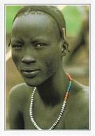 Ethiopie Portrait D'Anuak (2 Scans) - Ethiopie