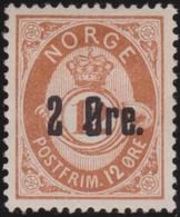 Norway    .      Yvert    45     .       (*)        .     No Gum   .    /   .   Geen Gom - Neufs