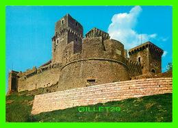 ASSISI, ITALIA - ROCCA MEDIOEVALE - FORTERESSE DU MOYEN ÂGE - - Perugia