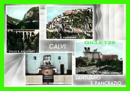 TORINO, ITALIA - CALVI, SANTUARIO S. PANCRAZIO - 5 MULTIVUES - - Églises