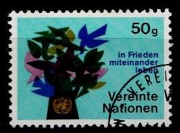 Nations Unies Wenen 1979 Mi.Nr: 1 In Frieden...  Oblitèré / Used / Gebruikt - Oblitérés