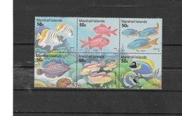 MARSHALL Nº 456 AL 461 - Fische