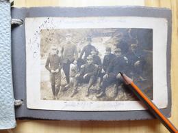 ALBUM PHOTOS D'UN POILU PLOERMEL ETC .. 102° REGIMENT - TANK CHAR MILITARIA GUERRE 1914-18 - BRETAGNE  + AISNE - Guerre, Militaire