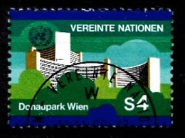 Nations Unies Wenen 1979 Mi.Nr: 3 UNO-City Im Donaupark Wien  Oblitèré / Used / Gebruikt - Centre International De Vienne