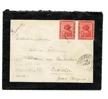 Alexandrie- Corps D'armées FR. Datée 1915.Cachet Sur Timbres égyuptiens. Complet Tb état - Postmark Collection (Covers)