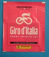 GIRO D'ITALIA AMORE INFINITO 102 PANINI PACCHETTO FIGURINE NUOVO - Edizione Italiana