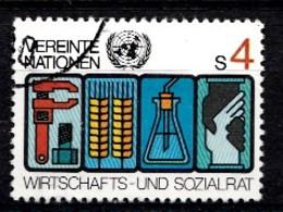 Nations Unies Wenen 1980 Mi.Nr: 14 Symbole Für...  Oblitèré / Used / Gebruikt - Oblitérés