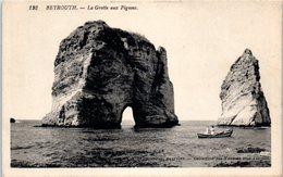 Asie - Liban - BEYROUTH - La Grotte Aux Pigeons - Lebanon