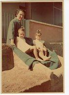 Femme Woman Enfant Kid Girl Couleur 40s Portrait - Personnes Anonymes