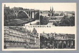 LU.- LUXEMBOURG. Vierluik. Bruggen. THILL. E.A. Schaack Luxemburg. - Luxemburg - Stad